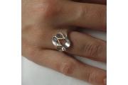 Strieborný prsteň Maťka