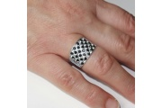 Strieborný prsteň Fredo