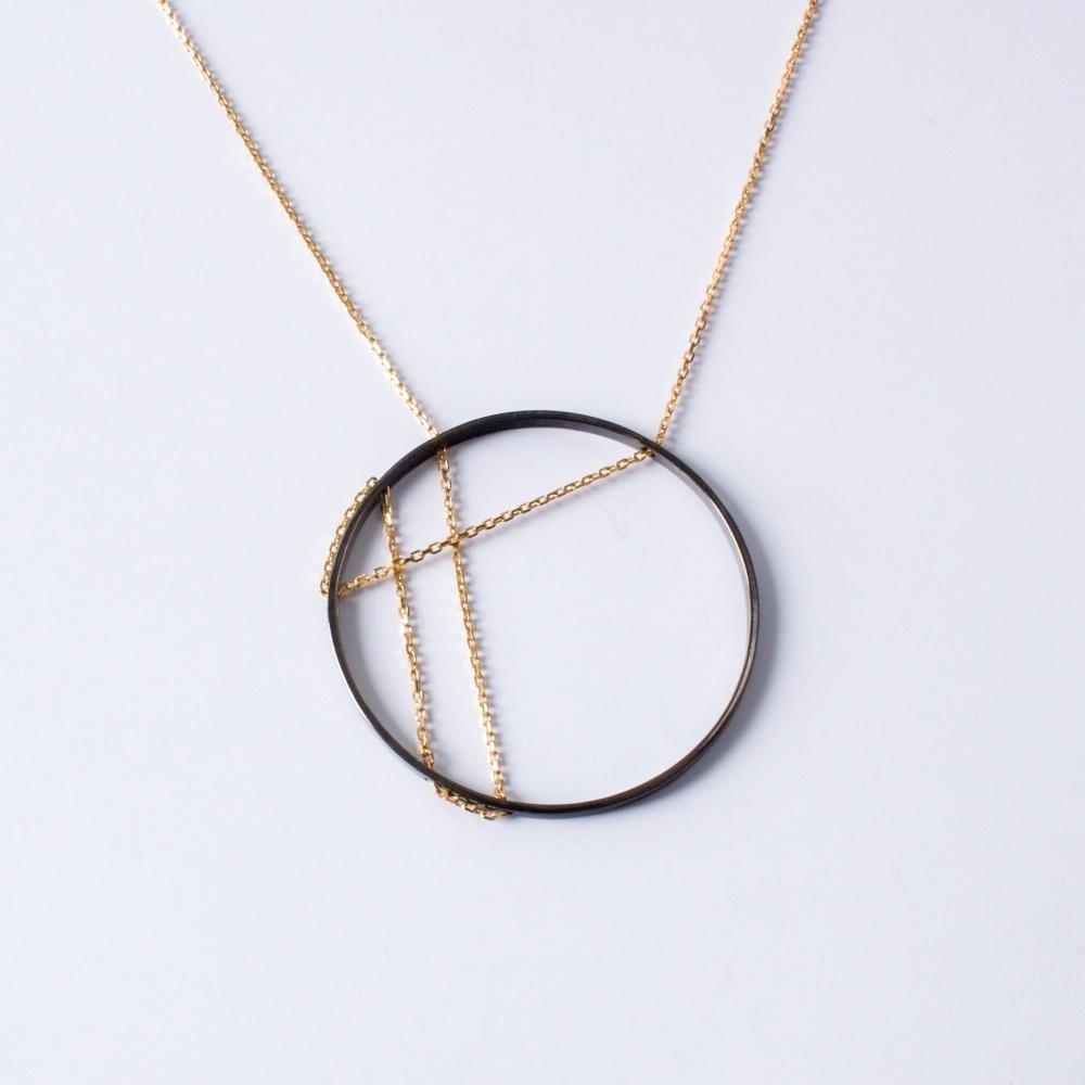 Strieborný náhrdelník Janka