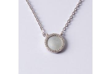 Strieborný náhrdelník KPT
