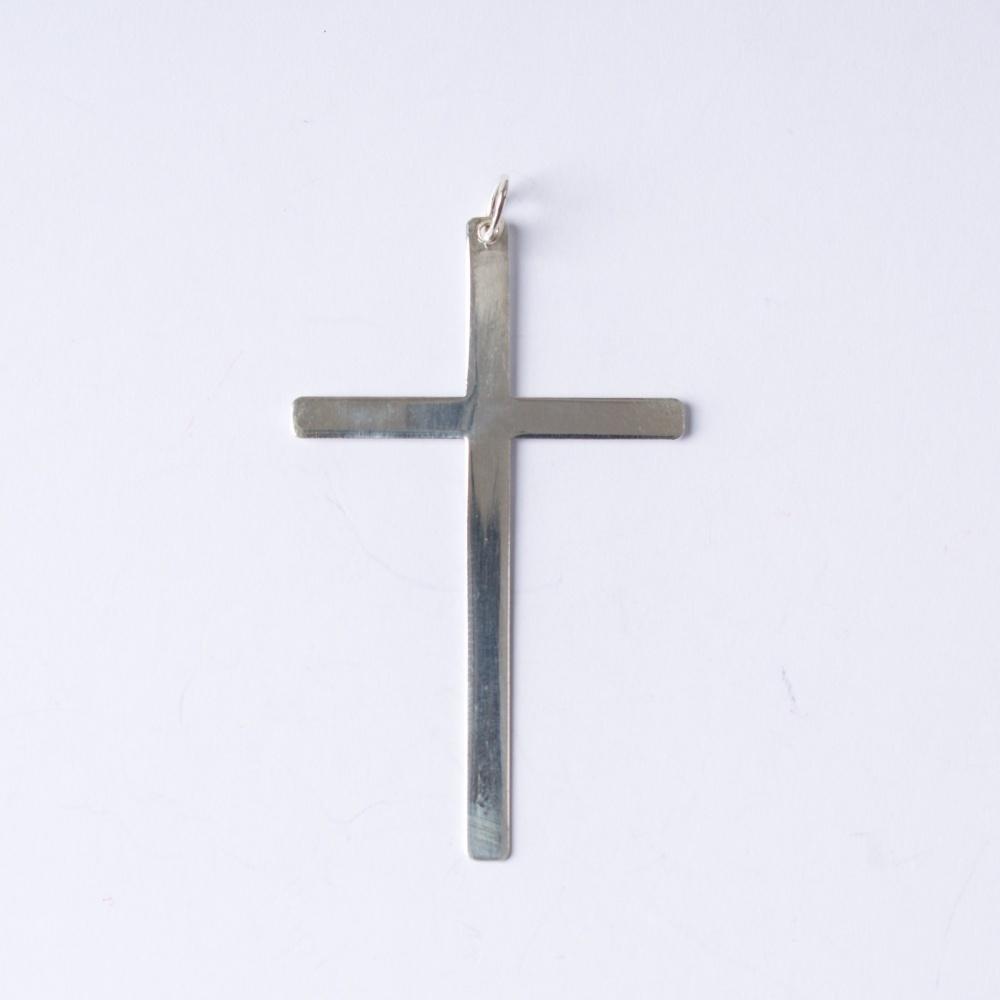 Strieborný prívesok Krížik 3