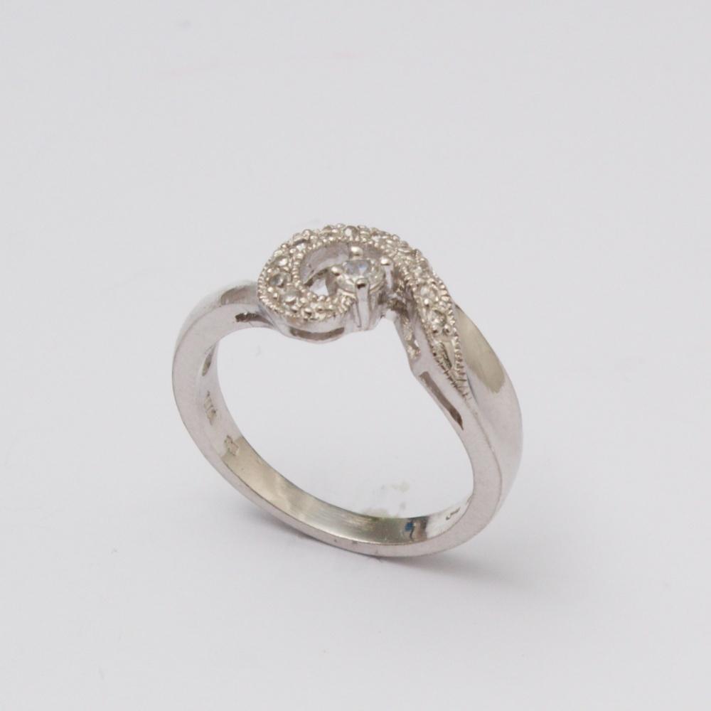 Strieborný prsteň Katka