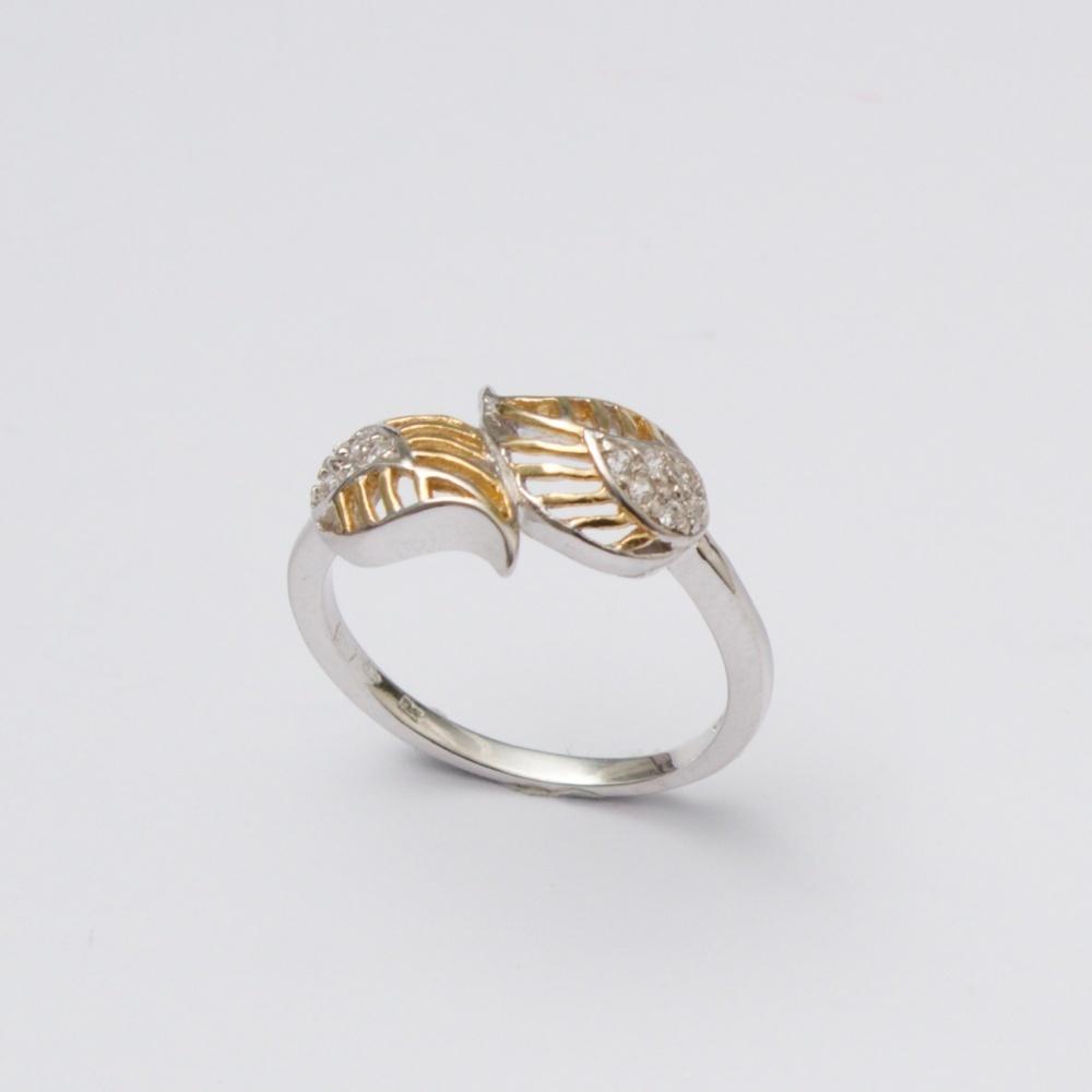 Strieborný prsteň Svatava