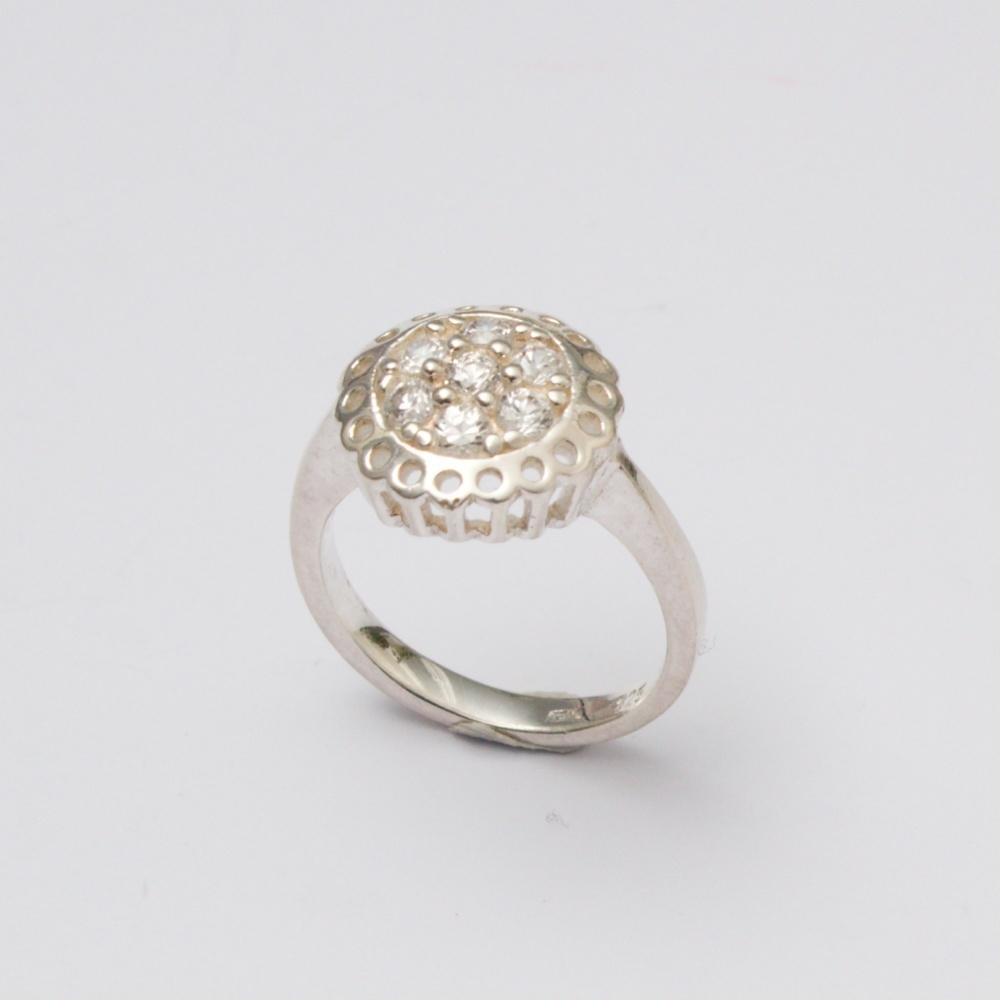 Strieborný prsteň Venuša