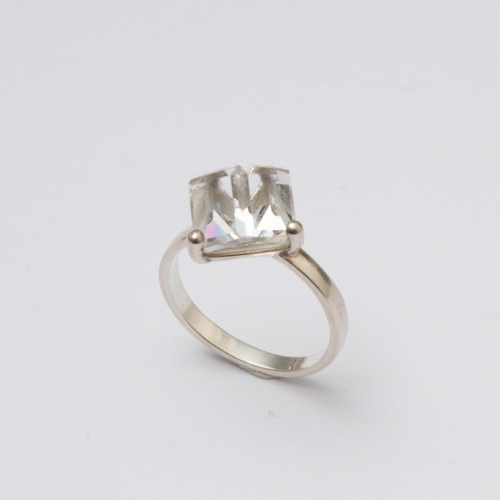 Strieborný prsteň Barborka