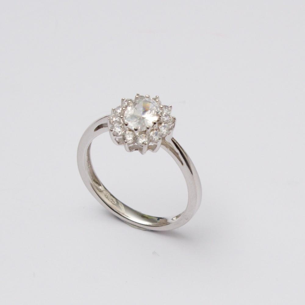 Strieborný prsteň Nadežda