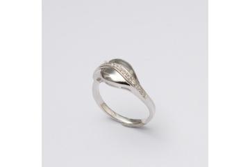 Strieborný prsteň  cesta