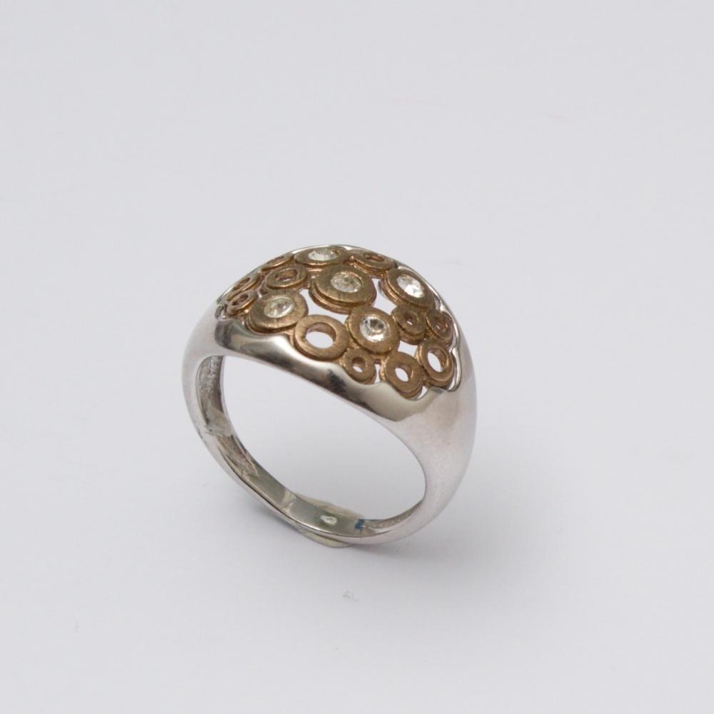 Strieborný prsteň Alchymista