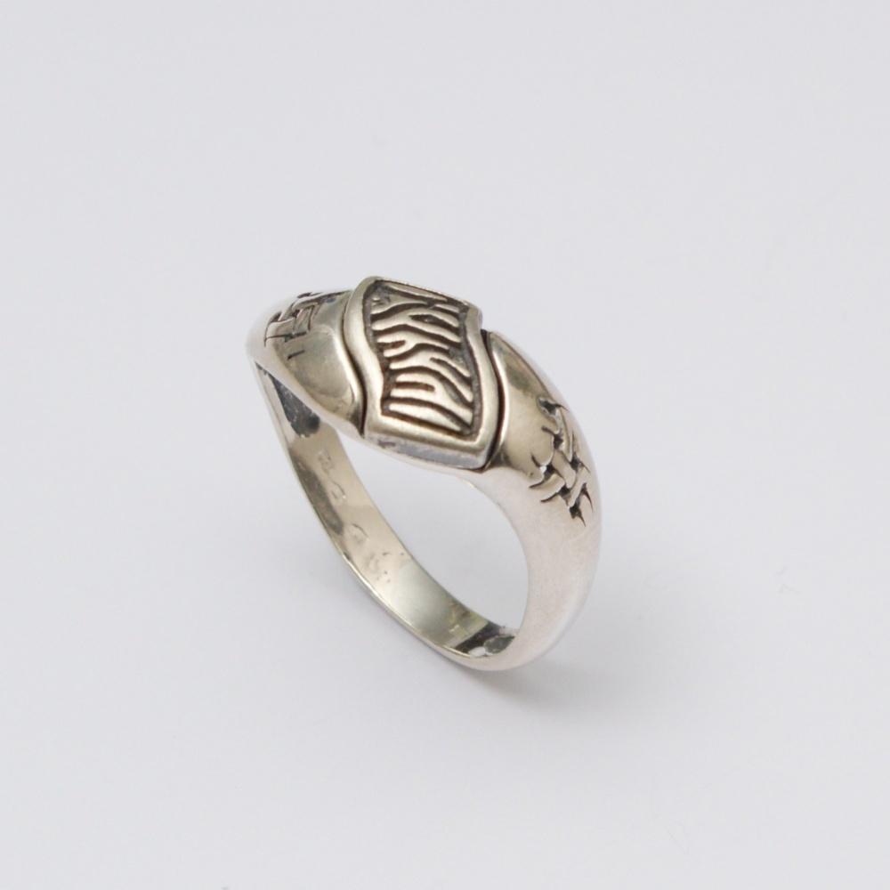 Strieborný prsteň Ria