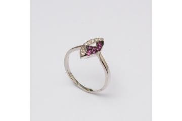 Strieborný prsteň Fedor