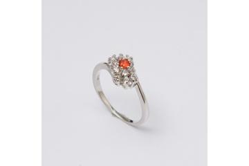 Strieborný prsteň Lili