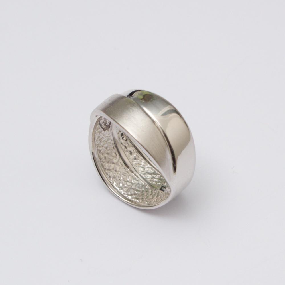 Strieborný prsteň Double