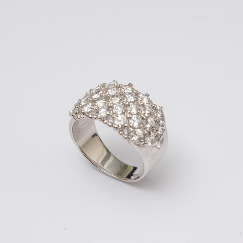 Strieborný prsteň Cindy