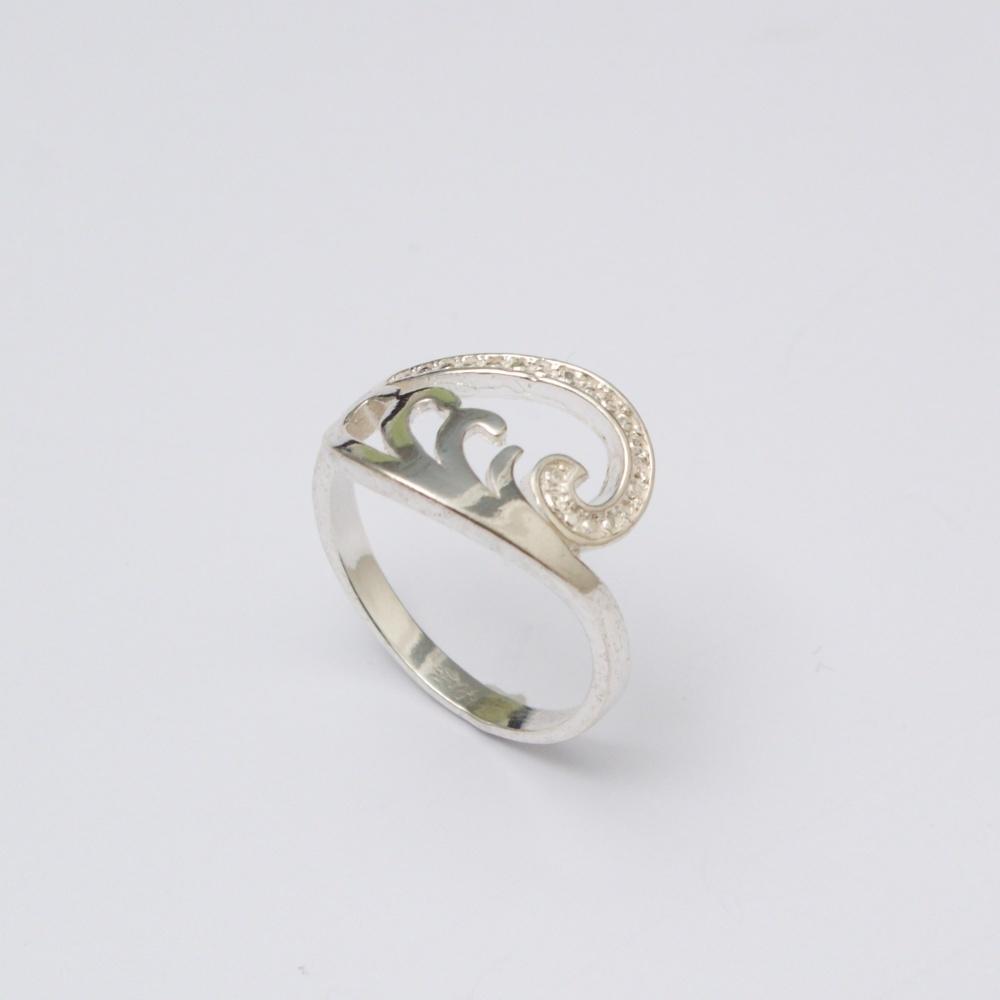 Strieborný prsteň Vladan