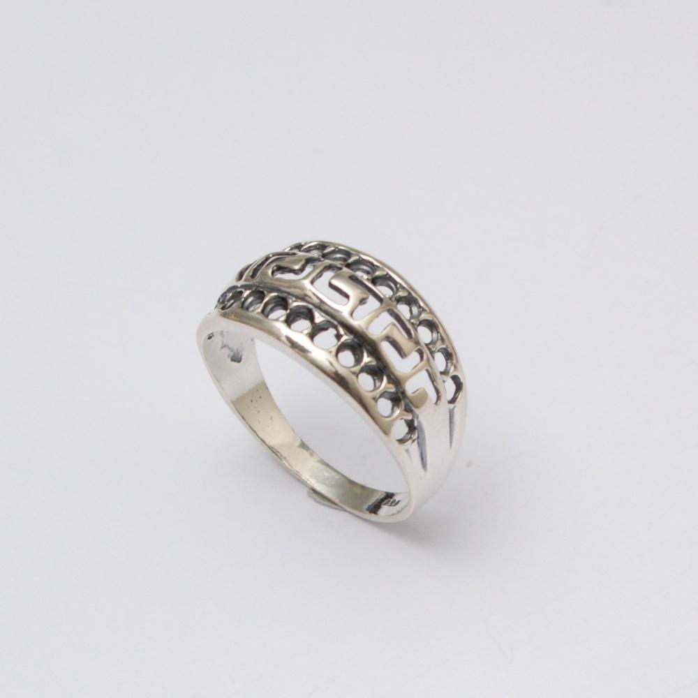 Strieborný prsteň Peter