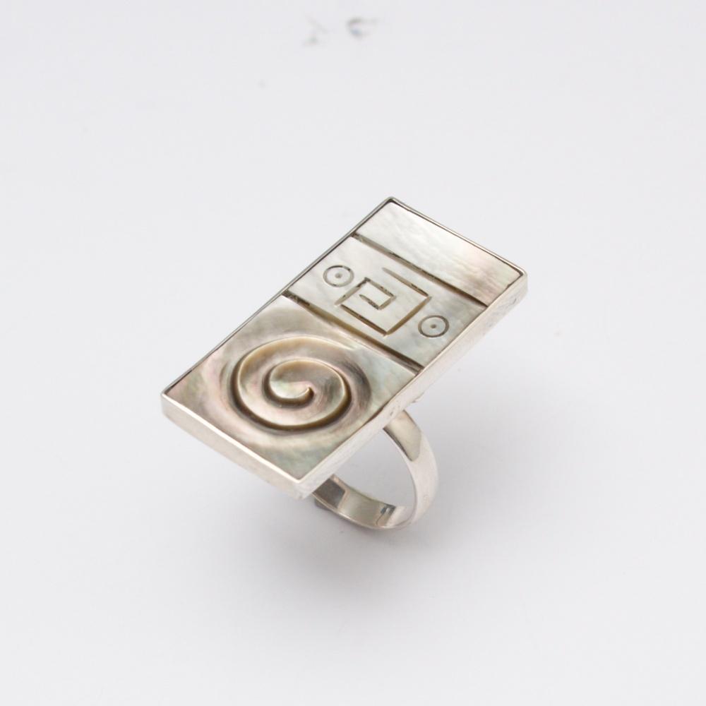 Strieborný prsteň Stano