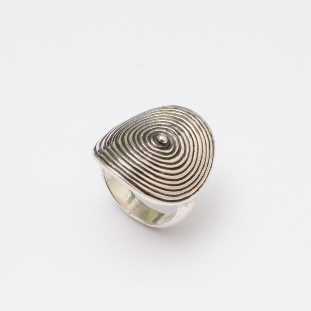 Strieborný prsteň Kelly