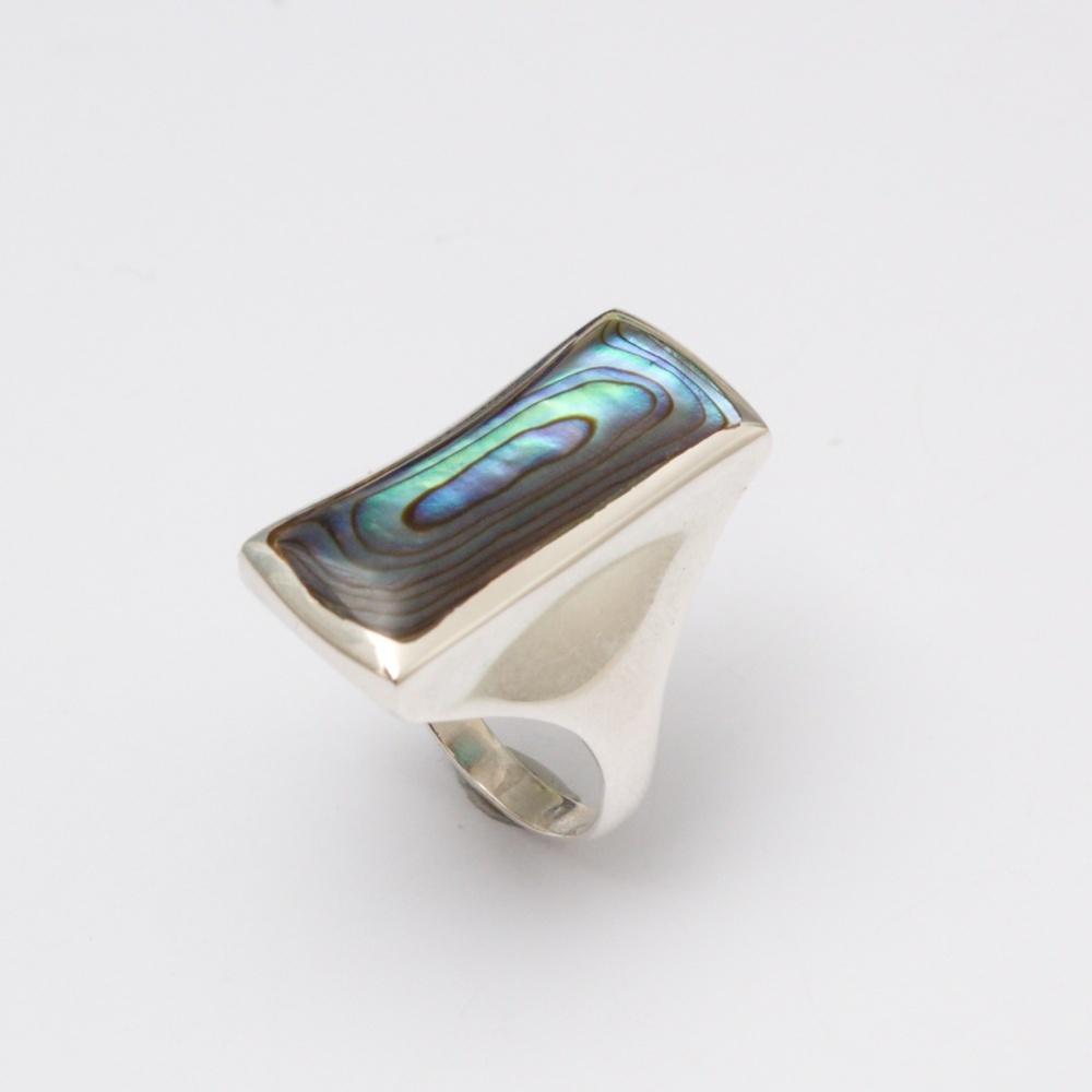 Strieborný prsteň Marry