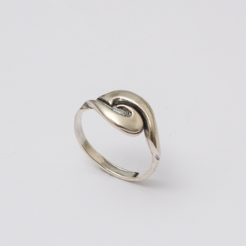 Strieborný prsteň Miloš