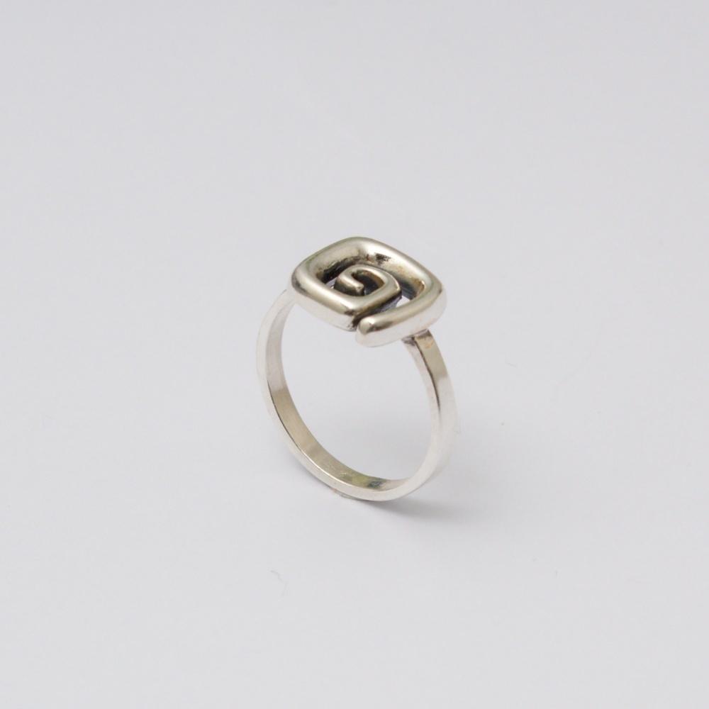 Strieborný prsteň Ctirad
