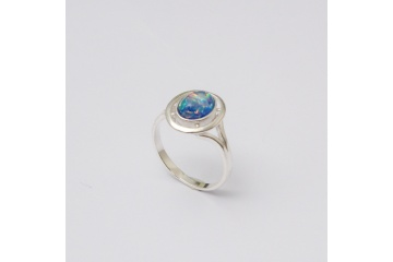 Strieborný prsteň Hugo