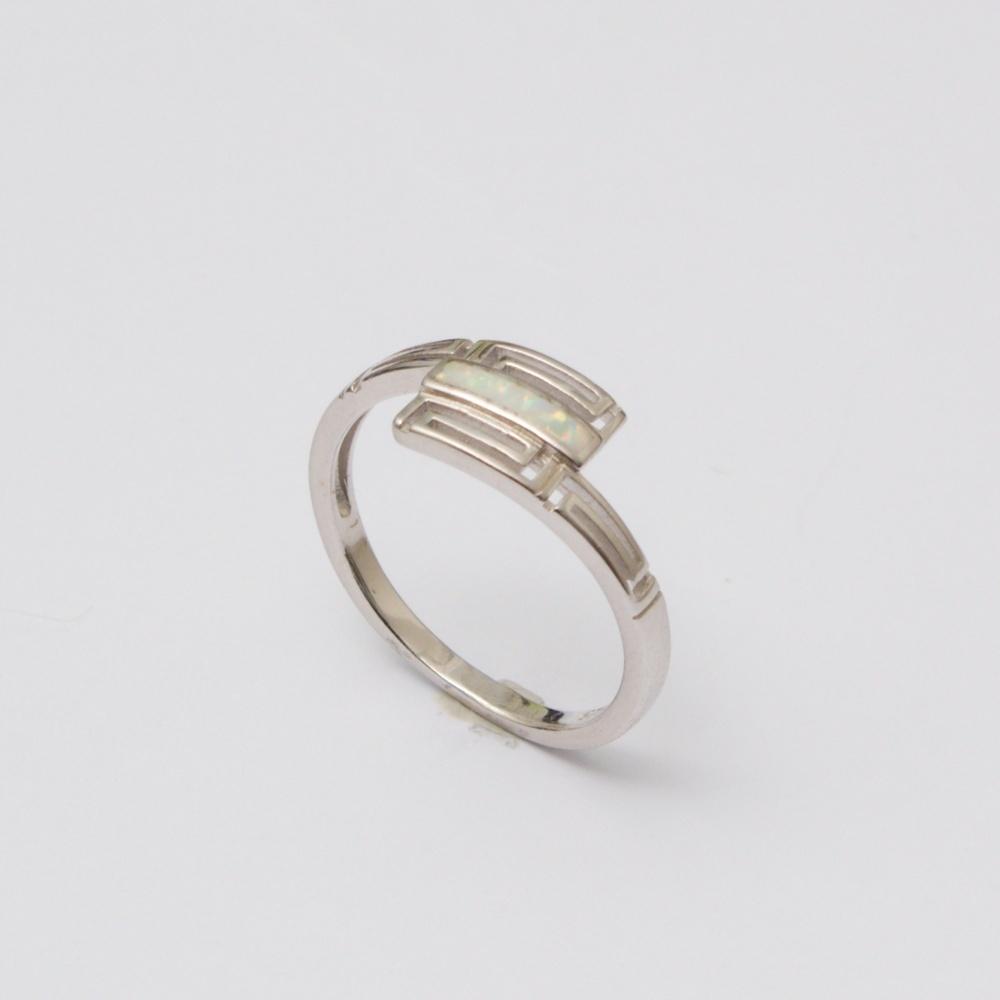 Strieborný prsteň Noro