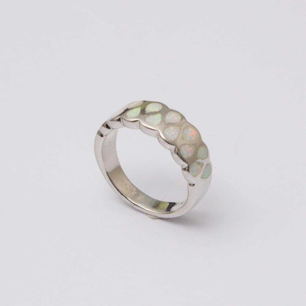 Strieborný prsteň Ľuby