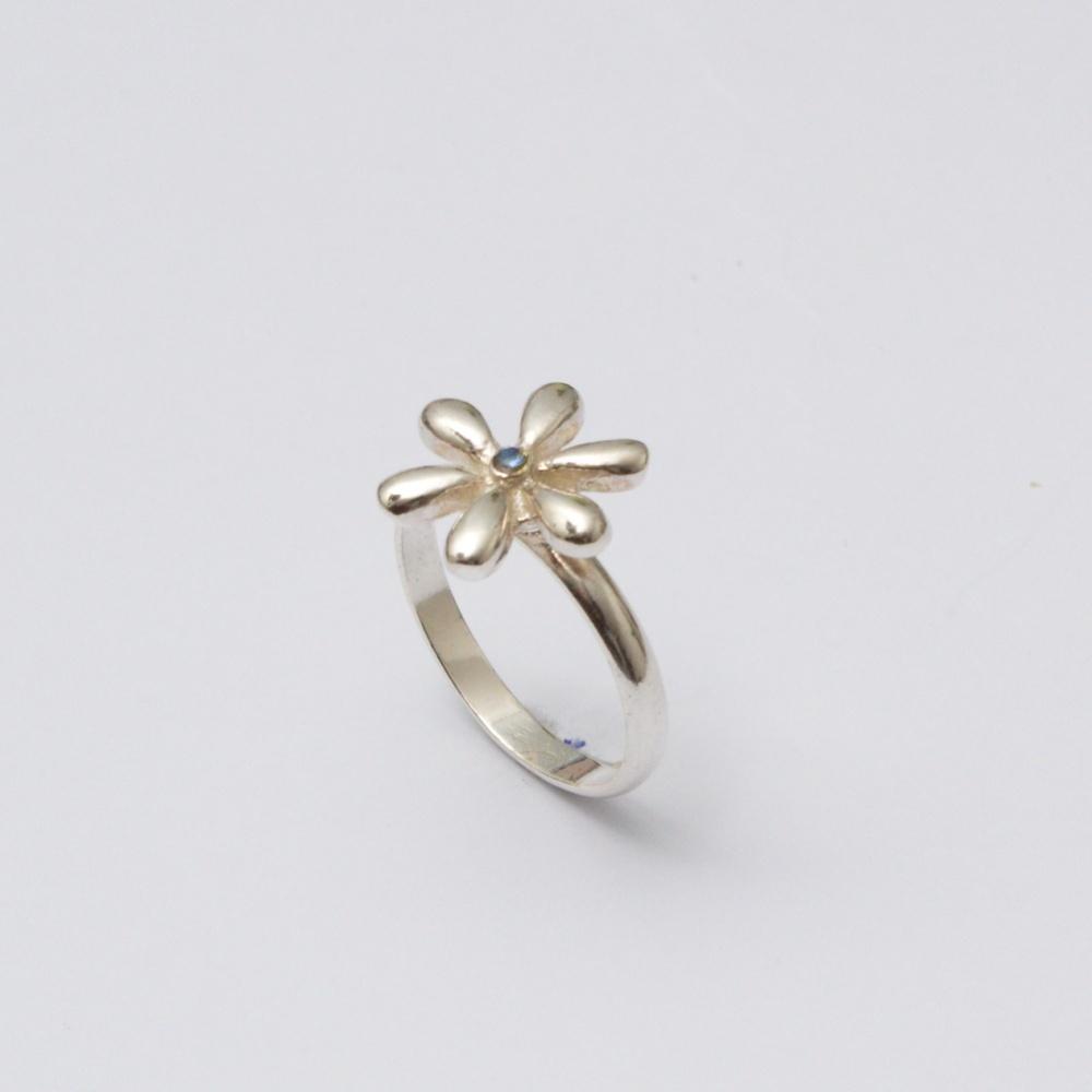 Strieborný prsteň Mary