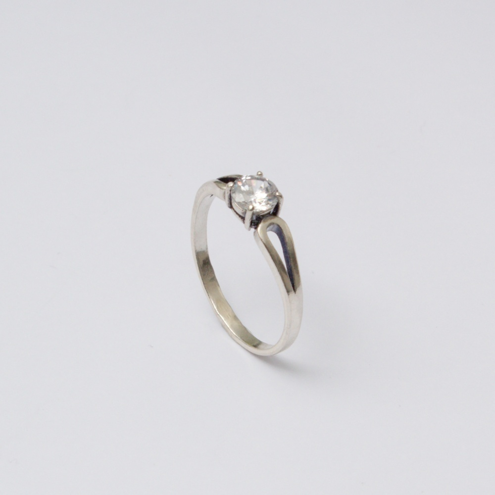 Strieborný prsteň Klemo