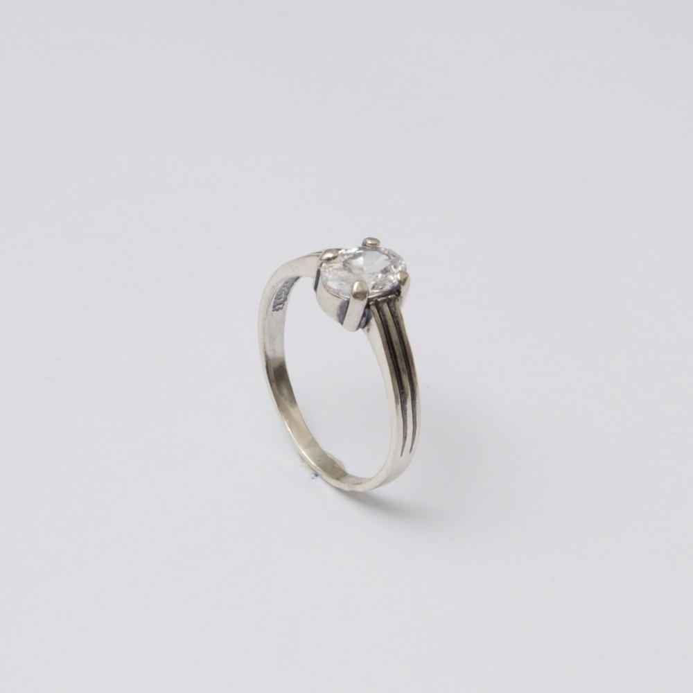 Strieborný prsteň Edko