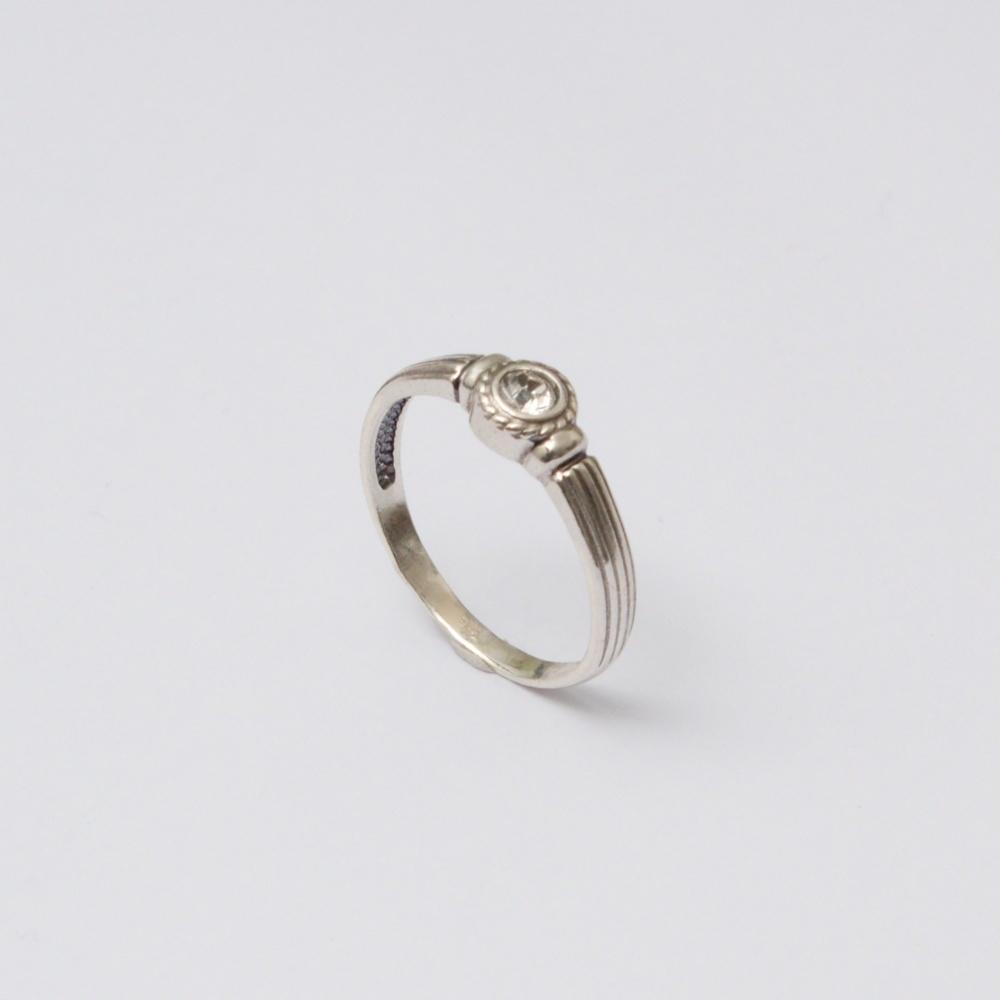 Strieborný prsteň Tony