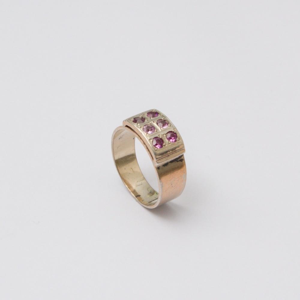Retro prsteň Ag 835 Adam