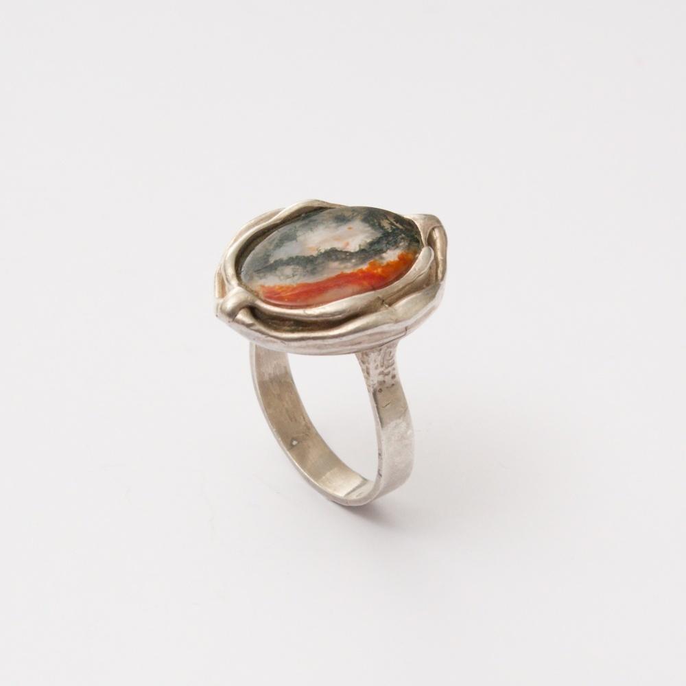 Retro prsteň Ag 800 Zefo 9,60 g