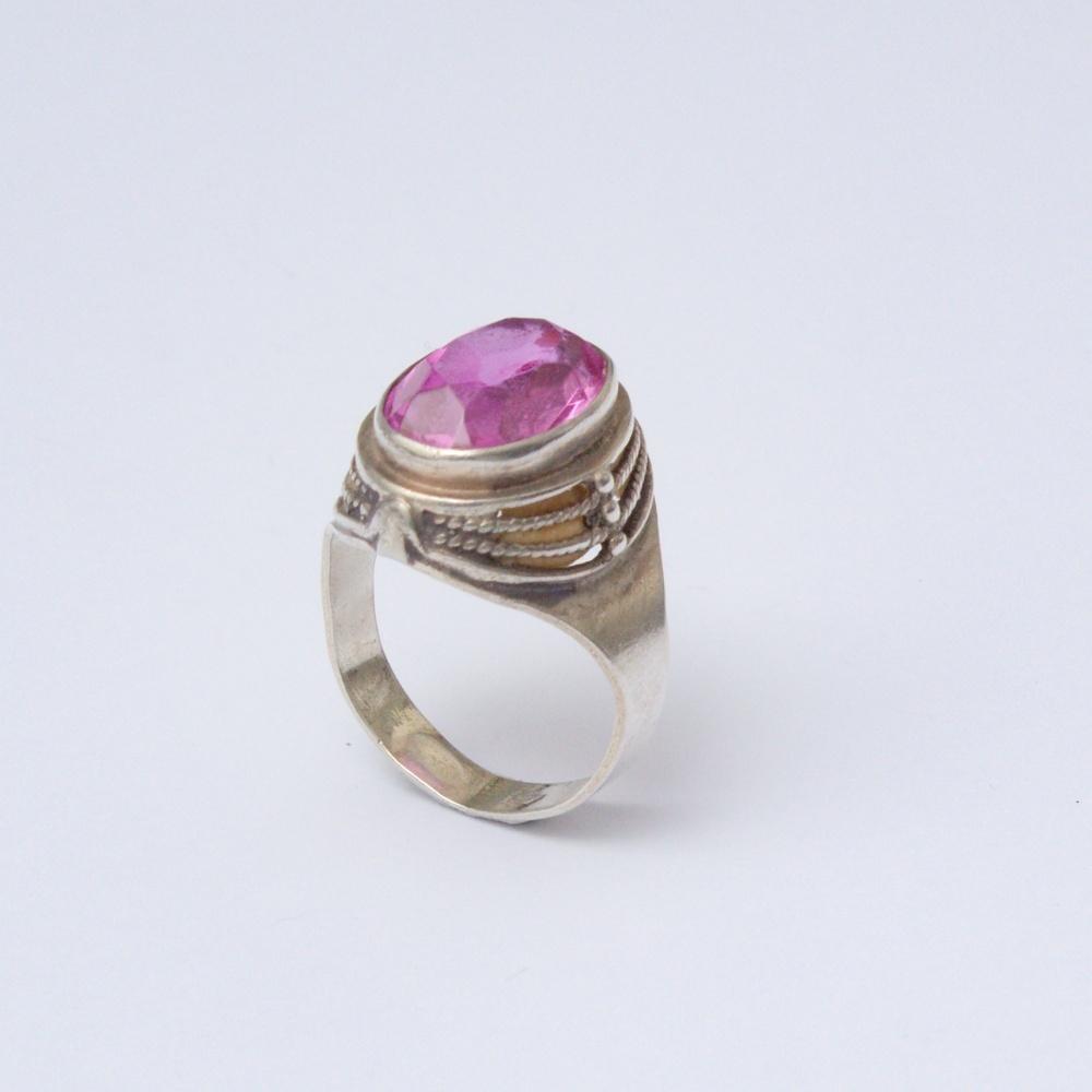 Retro prsteň Ag 835 Donat 5,50 g