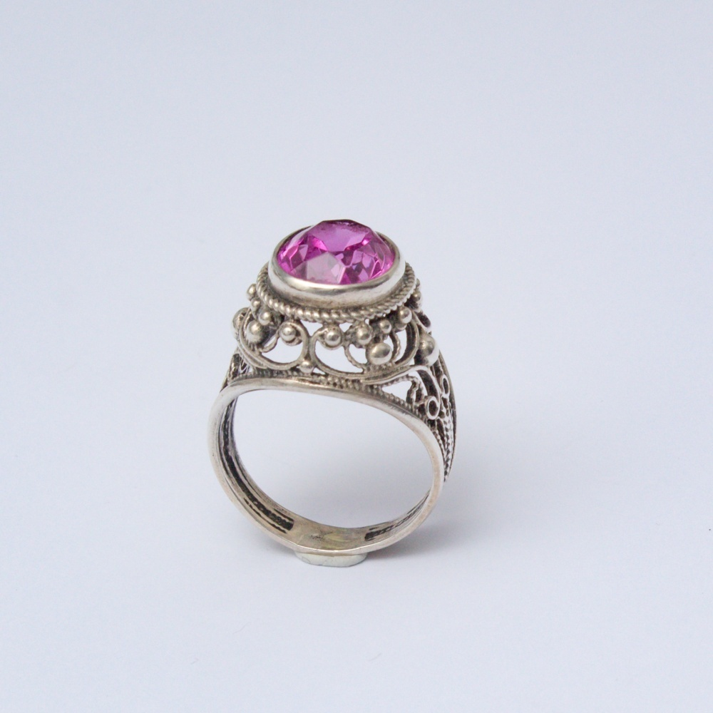Retro prsteň Ag 835 Benedikt 5,50 g