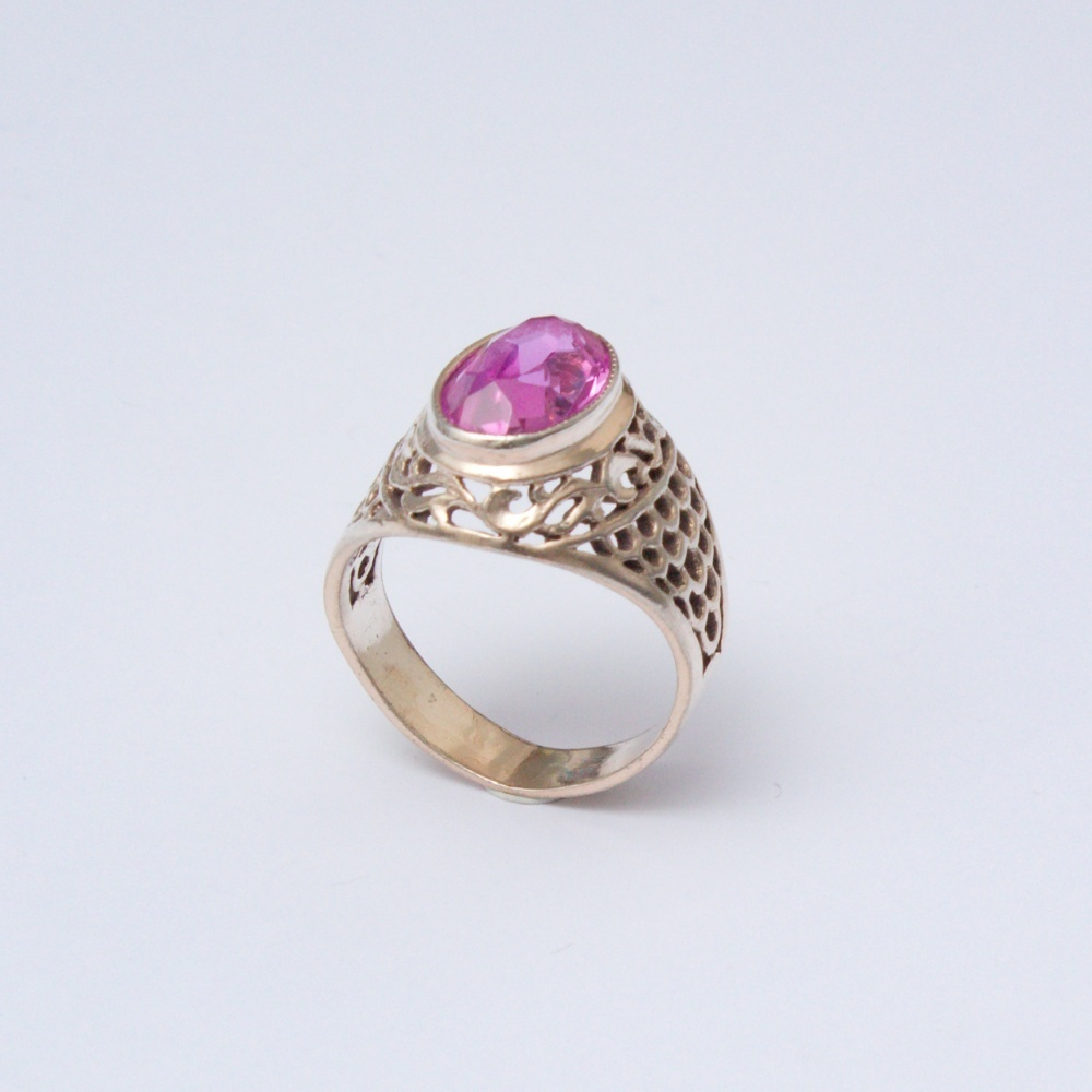 Retro prsteň Ag 835 Felix 5,0 g