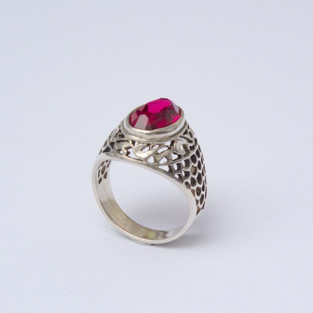 Retro prsteň Ag 835 Anieli 5,0 g