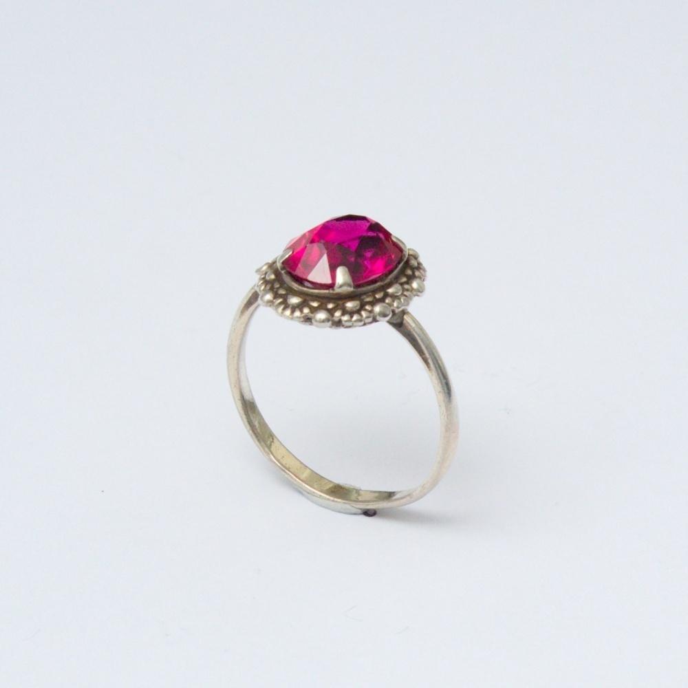 Retro prsteň Ag 835 Urban 2,40 g