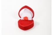 Zamatová krabička prsteň